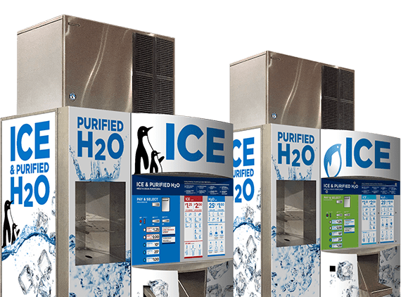 The ice merchant is perfect for getting started in the ice vending business