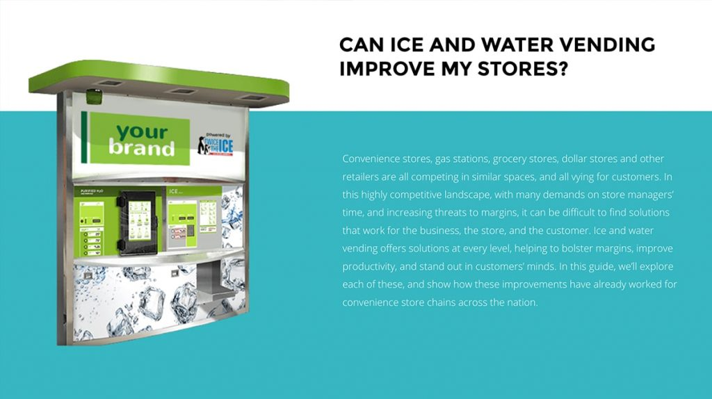 Retailer's Guide to Ice & Water
